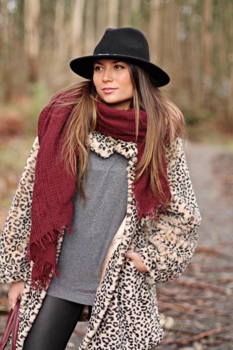 leo, leopard coat