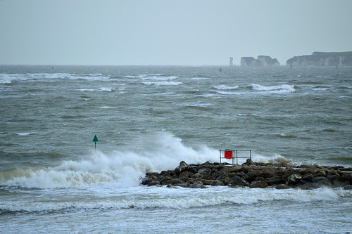 Looking stormy on sandbanks