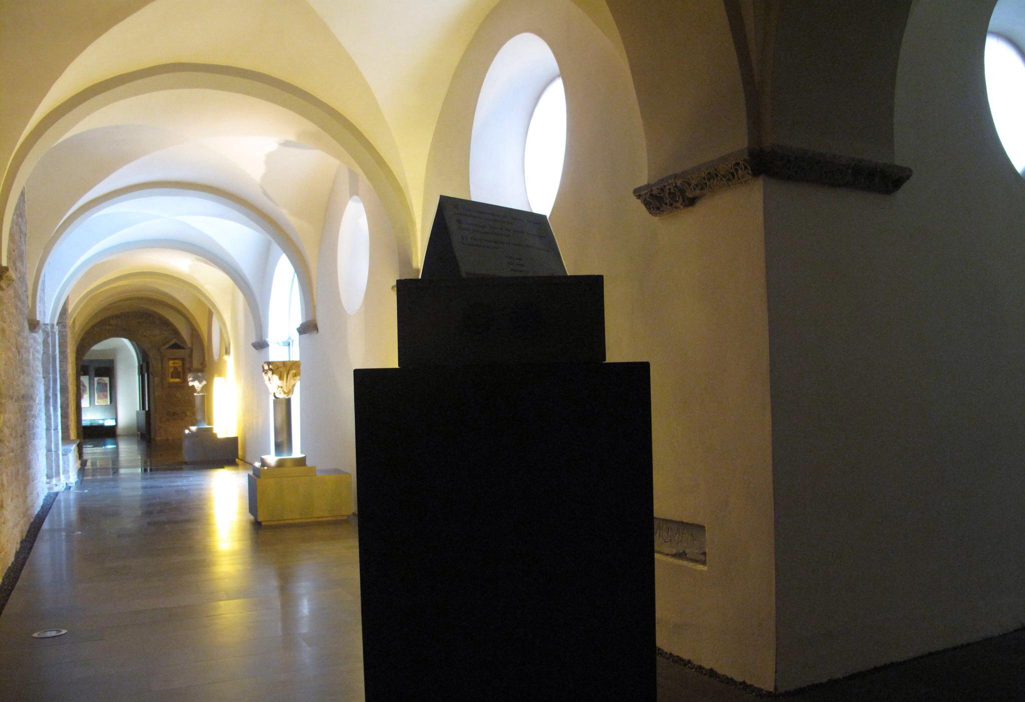 museo diocesano de jaca_claustro_vista estereoscopica_barroco