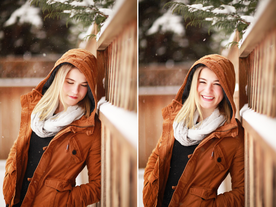 Hailey in the Snow