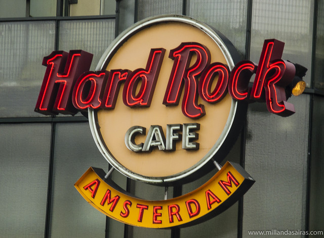 Hard Rock Cafe en la Plaza Max Euwe