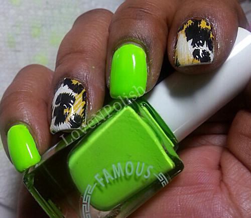 Fingrs nail wrap