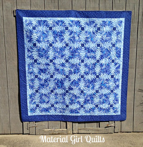 Blue Pineapples quilt