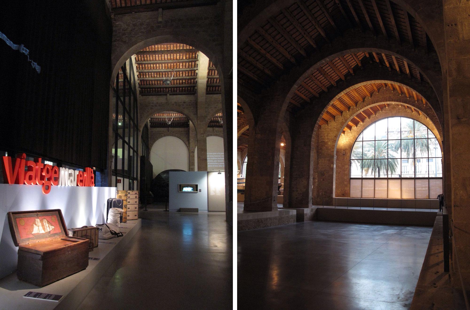 museo maritimo barcelona_exposicion_atarazanas reales
