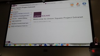 Welcome to Union Square Project Extranet
