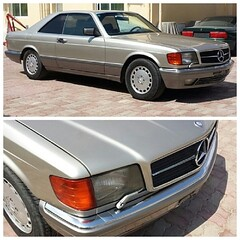 #For#Sale#Used#Car#Mercedes#Benz#SClass#W126#560#SEC#Coupe#1991#alyehli#alyehliparts#UAE#AbuDhabi#AlFalah#City    Used Car - Mercedes Benz S Class W126 1991 Smoke Silver 560 SEC 168000 Km! Conditions : Used and Very good condition Color : Some Silver Loca