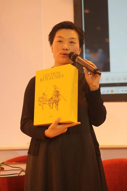 Xu Ge Fei - Salon du Livre 2014
