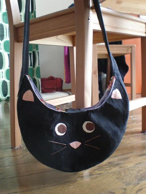 Cat Bag Front