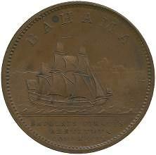 1807 Bahamas penny reverse