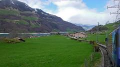 Powrót pociagiem do Luzern