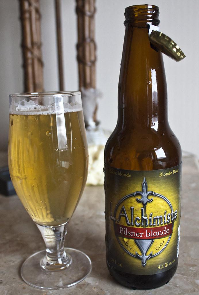 L'Alchimiste Pilsner blonde