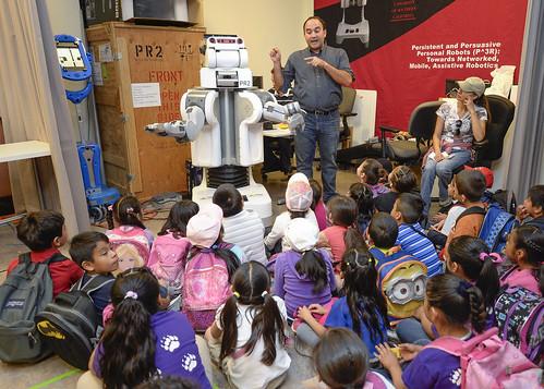 USC Viterbi School of Engineering Robot Open House 4-10-14