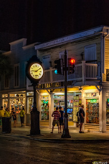 Night Time on Duval Street, Key West.jpg
