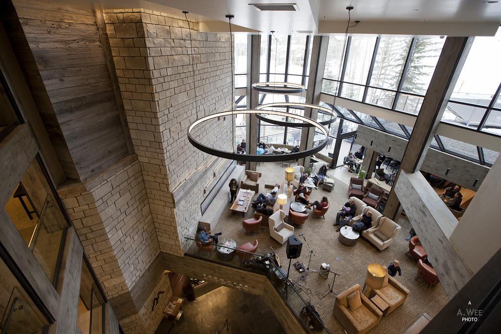 Lobby at Westin