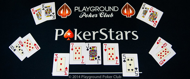Last Hand of the PokerStars Canada Cup Main Event: 4-Way All-in