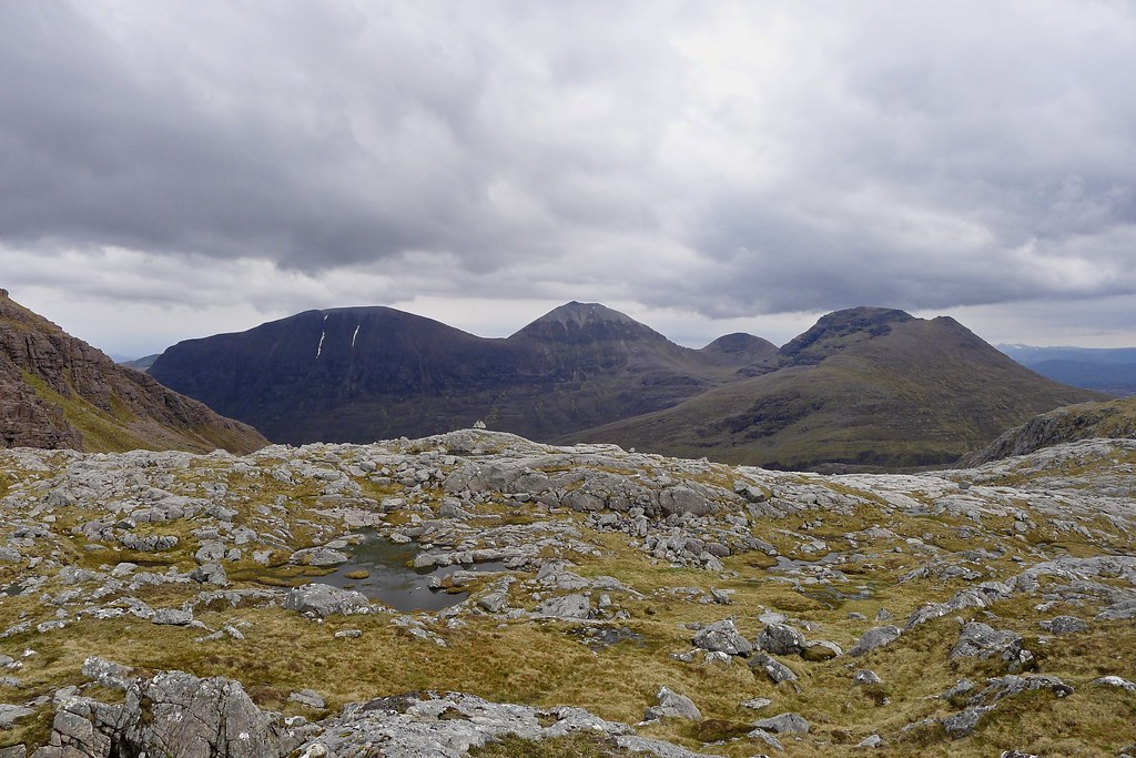 Eastern Fisherfield Hills