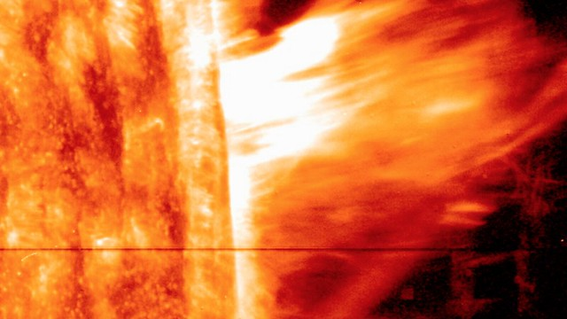 Photo:A First for NASA's IRIS: Observing a Gigantic Eruption of Solar Material By:NASA Goddard Photo and Video