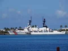 USA Coast Guard Honolulu Harbor James Brennan Molokai Hawaii