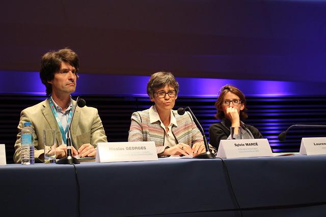 Nicolas Georges, Sylvie Marcé, Laurence Engel - Rencontres nationales de la librairie 2015