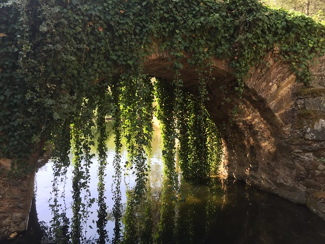 Puente medieval en Sierra de Gata (Extremadura)