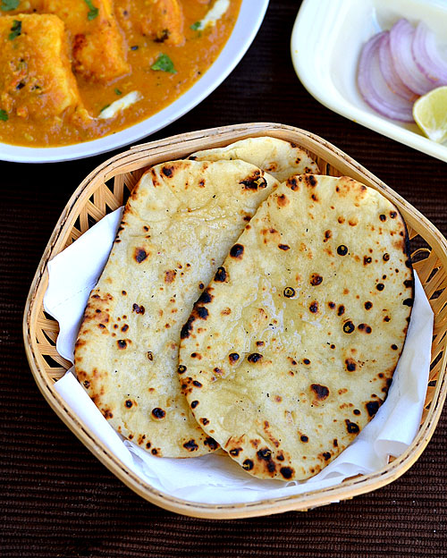 Naan recipe without yeast on tawa
