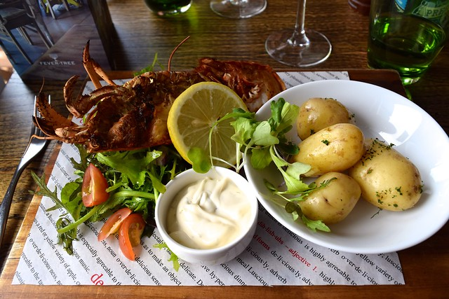 Lobster at The Boatyard, Isle of Man