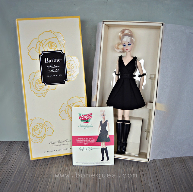 Classic Black Dress Barbie Platinum Edition
