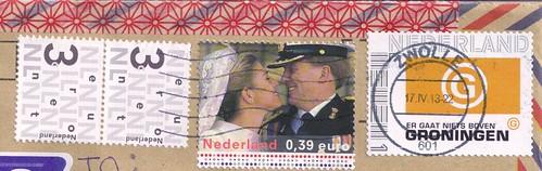 Netherlands Postage Stamps