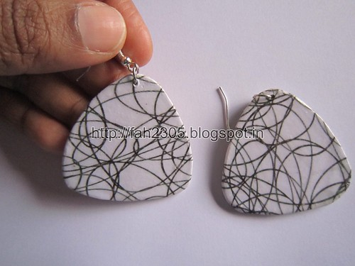 Handmade Jewelry - Card Paper Earrings  (Album 3) (34) by fah2305