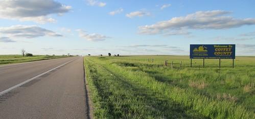 landscapes ks kansas greatplains coffeycounty countysigns