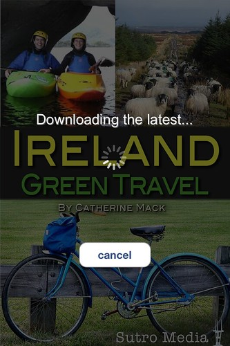 Downloading the latest Ireland Green Travel @catherinemack @Greenirelandapp (2013)