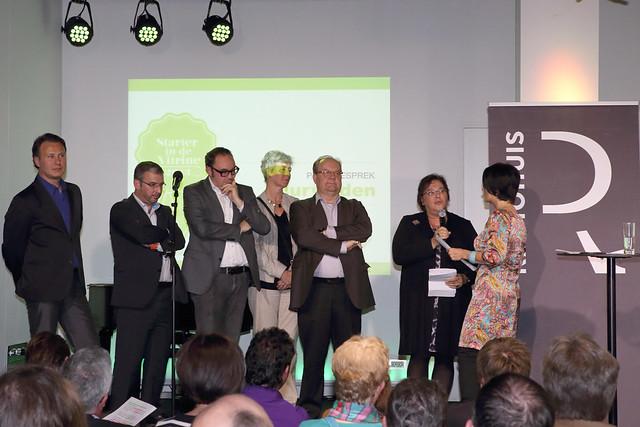 Bekendmaking winnaars Leuvense Starter in de Vitrine