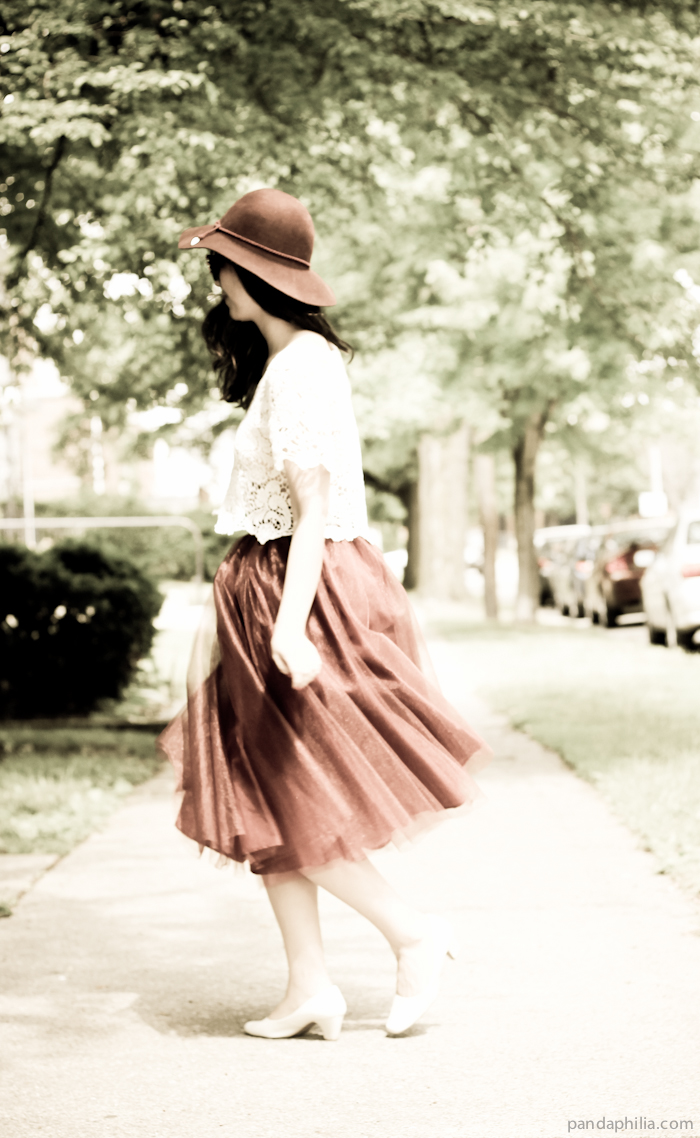 vintage twirling girl