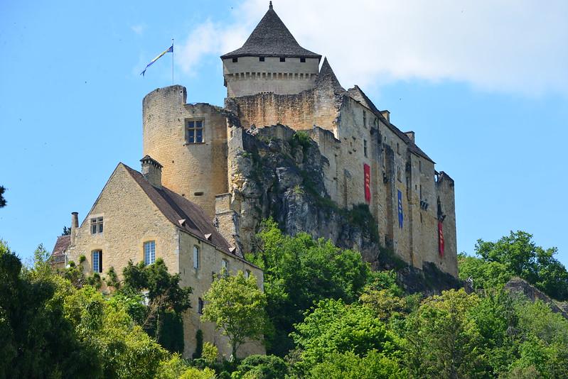 Medieval château in Castelnaud