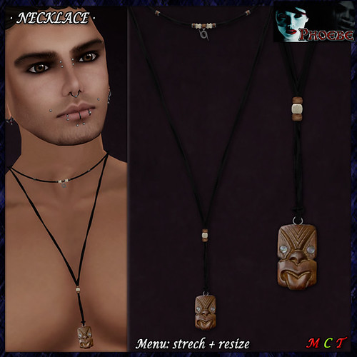 GIFT! *P* Totem Necklace ~Man~
