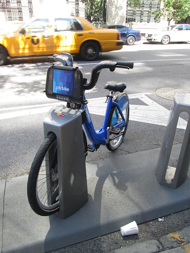 Citi Bike, NYC. Nueva York