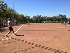 soft tennis(0.0), baseball park(0.0), baseball(0.0), softball(1.0), sport venue(1.0), sports(1.0), competition event(1.0), baseball field(1.0), bat-and-ball games(1.0), ball game(1.0), athlete(1.0), tournament(1.0),