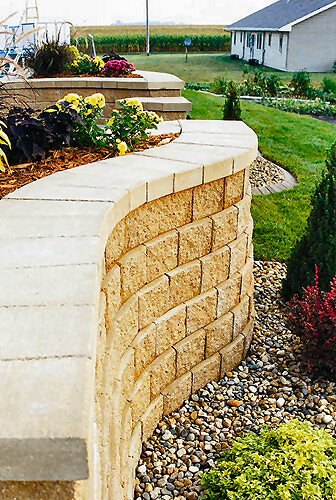 Retaining Walls | Projects | Hedberg Landscape and Masonry Supplies ...