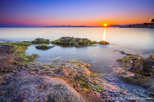 longexposure sunset sea sun seascape rocks pentax wide sigma nd 1020 k5 sigma1020 reversegnd