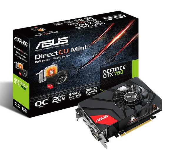 PR ASUS GeForce GTX 760 DirectCU Mini with box