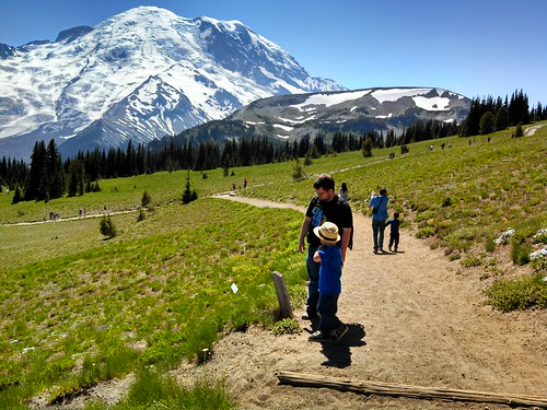 Mount Rainier, Sunrise Area