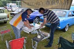 Harrow CC stand at the Uxbridge Auto Show 2013