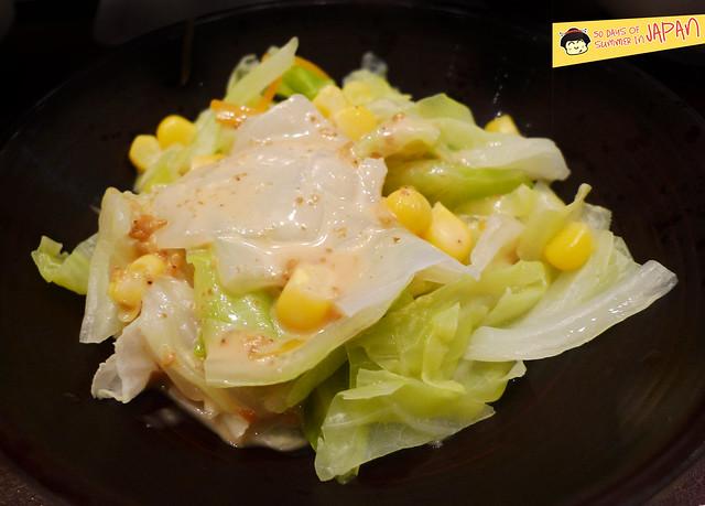 Tempura Hisago - salad