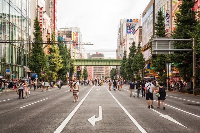 20130725_02_Akihabara Pedestrian precinct SNAP
