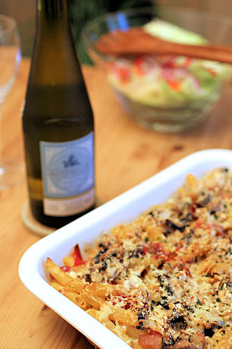 Pasta Bake with Muscadet IMG_8871 R