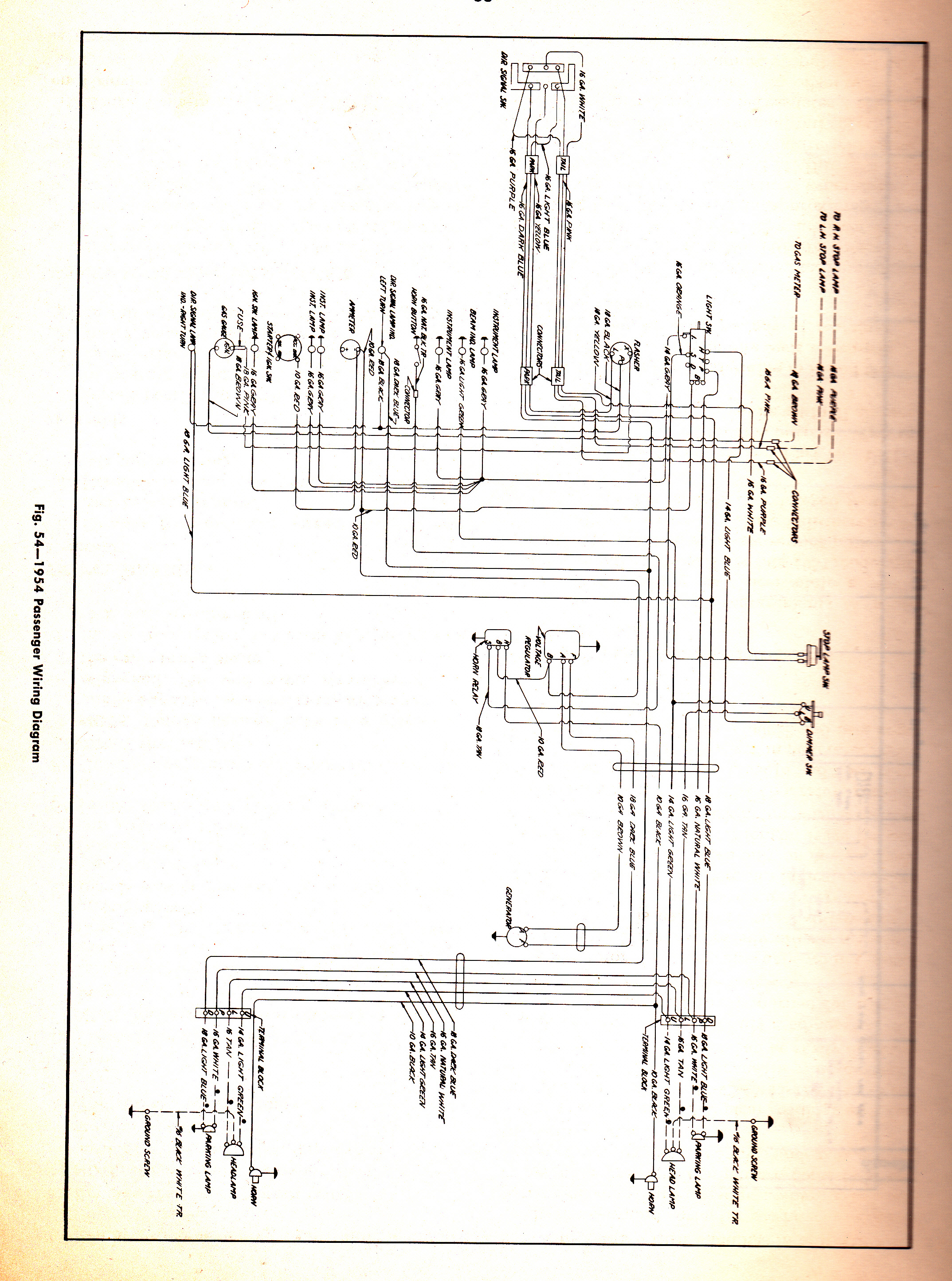 1949 1951 ford dash wiring diagram 1951 chevy fleetline wiring diagram #12
