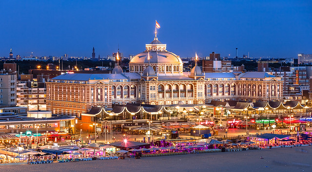 Kurhaus at Night