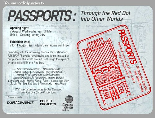 PASSPORTS- Through the Red Dot Into Other Worlds