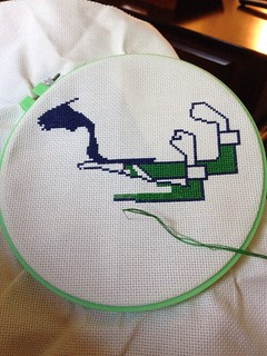ND cross stitch