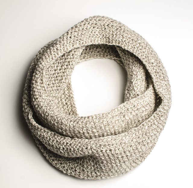 Crochet Pattern Central Infinity Scarf ~ Dancox for .